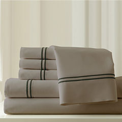 Pacific Coast Textiles Double Marrow Hem 1000tc 6pc Sheet Set