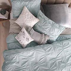 Peri Check Smocked Pillow Sham