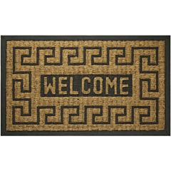 Achim Welcome Key Rectangular Doormat