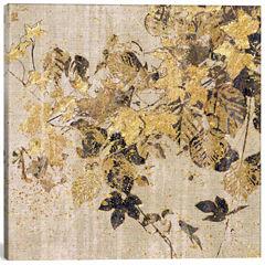 Icanvas Bold Ivy Canvas Art