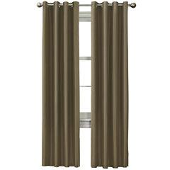 Wesley Thermal Grommet-Top Curtain Panel