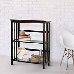 Mission 3-Tier Bookcase
