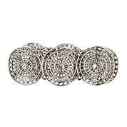 Arizona Open Silver-Tone Disc Bracelet