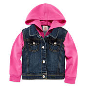Arizona Denim Swacket - Baby Girls 3m-24m