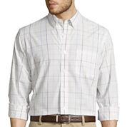 Dockers® Long-Sleeve Patterned Sportshirt