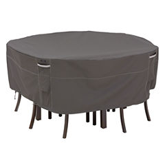 Classic Accessories® Ravenna Large Round Table & 6 Chairs Set Cover