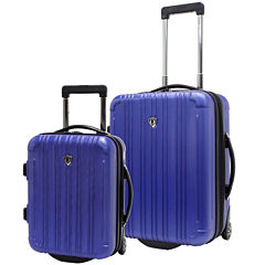 Traveler's Choice® New Luxembourg 2-pc. Carry-On Hardsided Luggage Set