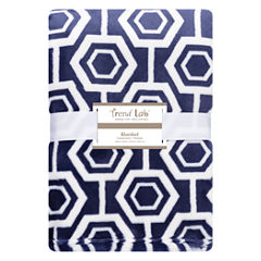 Trend Lab Hexagon Receiving Blanket
