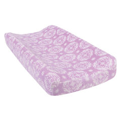 Trend Lab Medallion Plush Changing Pad Cover