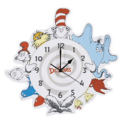 Trend Lab Dr. Seuss Wall Clock