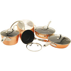 THE ROCK by Starfrit 10-Piece Copper Cookware Set