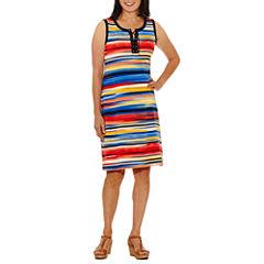 Rafaella Sleeveless Shift Dress