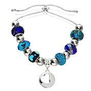 Dazzling Designs™ Adjustable Openwork Heart Bracelet