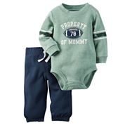 Carter's® Bodysuit and Pants Set - Baby Boys newborn-24m