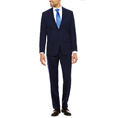 Collection by Michael Strahan Blue Stripe Suit- Classic
