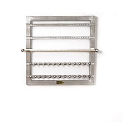 Hives & Honey Wall Mounted Silver Jewelry Accessory Frame