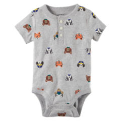 Carters Gray Baby Boy Clothes 0 24 Months for Baby JCPenney