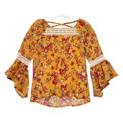 Knit Works Tunic Top - Big Kid Girls