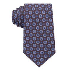 Stafford Super Shirt 1 Spinner Medallion Tie