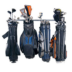 Monkey Bars Large Golf Bag Garage Wall Rack