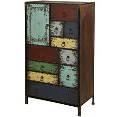 Sherwood 10-Drawer Storage Chest