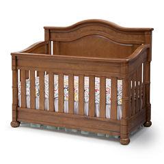 Simmons Kids® Hanover Park Crib 'N' More - Chestnut