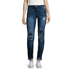 Vanilla Star® Destructed Skinny Jeans