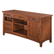 desks brown home office furniture for the home jcpenney