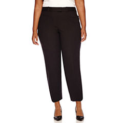 Liz Claiborne® Emma Fall Ankle Pants - Plus