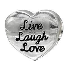 Forever Moments™ Live Laugh Love Charm Bracelet Bead
