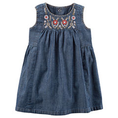 Carter's Sleeveless A-Line Dress - Baby Girls