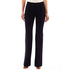 St. John's Bay® Straight Leg Bi-Stretch Pants - Tall