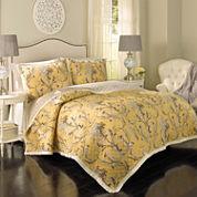 Historic Charleston Collection™ Cecelia Reversible 3-pc. Quilt Set