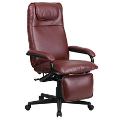 Reclining Leather Office Chair