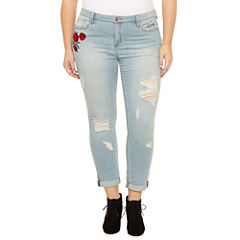 Almost Famous Skinny Jeans-Juniors Plus