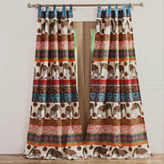 Barefoot Bungalow Kandula Desert Tab-Top Curtain Panel