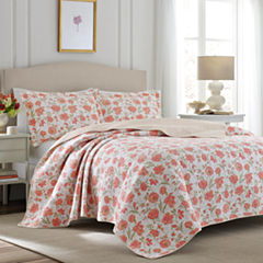 Laura Ashley Print Quilt Set