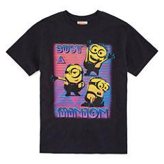 License Tees Minons Graphic T-Shirt-Big Kid Boys