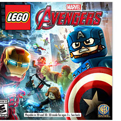 Lego Marvel Avengers Ninjago Video Game-Nintendo 3DS
