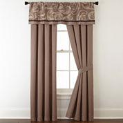 Liz Claiborne® Mallorca 2-pk. Rod-Pocket Curtain Panels