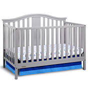 Graco Solano Crib with Mattress Collection Grey