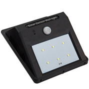 Everyday Home Solar Power Motion Activated Outdoor Wall Light