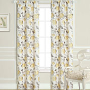 Laura Ashley® Hydrangea Rod-Pocket 2-Pack Curtain Panels