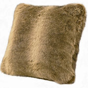 HiEnd Accents Briarcliff Wolf Faux-Fur Square Decorative Pillow