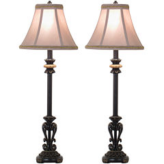 JCPenney Home™ Set of 2 Orleans Buffet Table Lamps