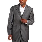 Steve Harvey® 3-Button Black Stripe Suit Jacket