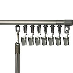 Bali® Universal Track Adjustable Curtain Rod