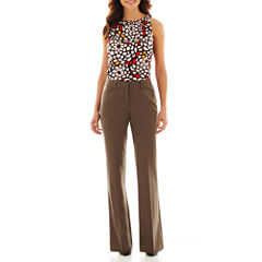 Worthington® Shirred-Neck Top or Modern Angle-Pocket Pants