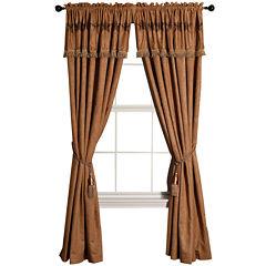 HiEnd Accents Luxury Star Curtain Panel