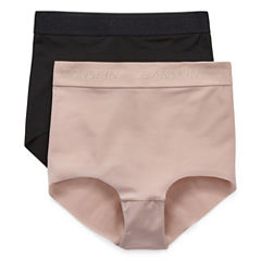 Danskin 2 Pair Knit High Cut Panty